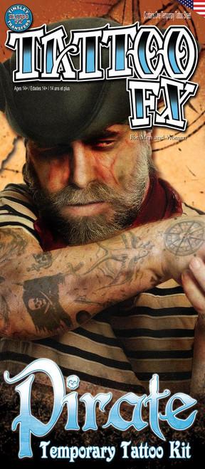 Pirate Costume Tattoo FX Kit