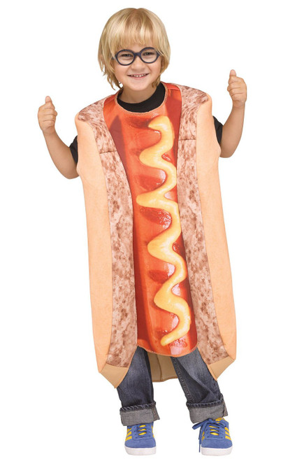 PhotoReal Hot Dog Toddler Costume 3T-4T