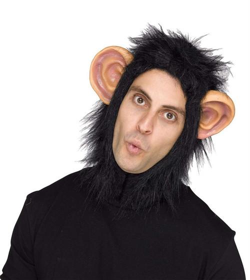 Chimp Adult Headpiece Costume Accessory