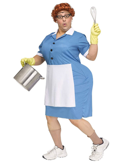 Funny Cafeteria Lady Adult Costume