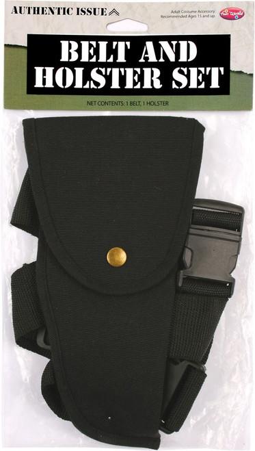 Fabric Gun Holster and Belt