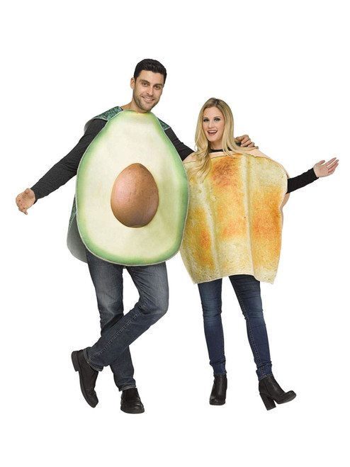 Adult Avocado Toast Couples Costume