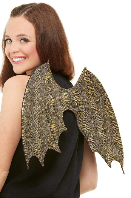 Dragon Scale Wings Womens Costume Accessory