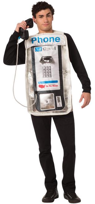 Rasta Imposta Retro Pay Phone Adult Costume-One Size