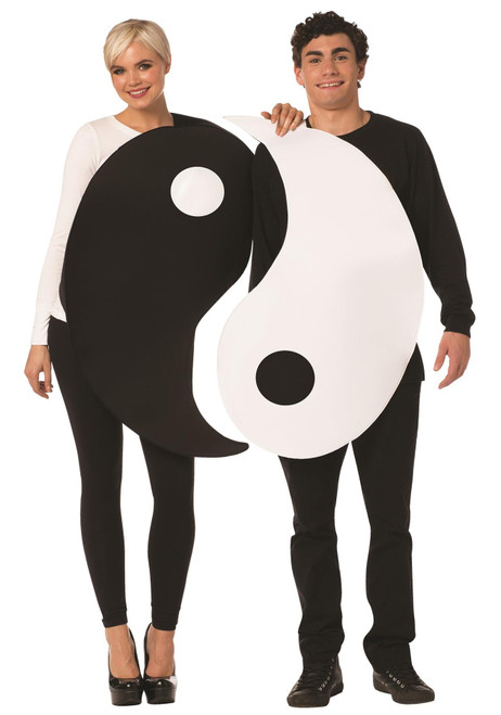Yin & Yang Couples Adult Costume - One Size