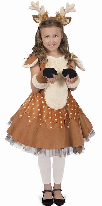 Girls Doe The Deer Costume