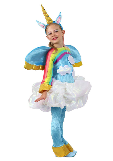 Girls Candy Catchers Unicorn in the Clouds Costume