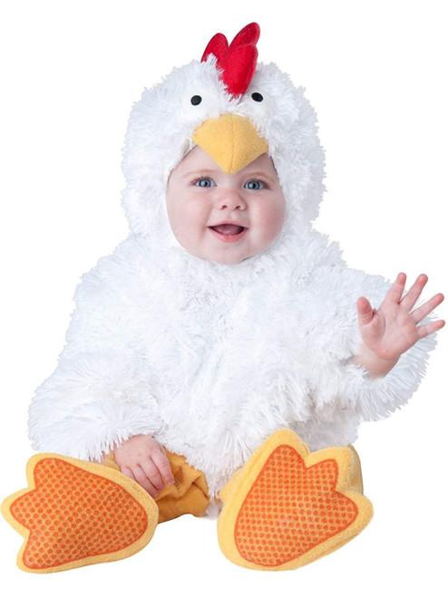Cluckin' Cutie Chicken Little Jumpusit Infant/Toddler Costume