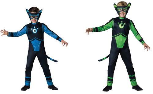 Wild Kratts Panther Creature Costume Boys Child Costume