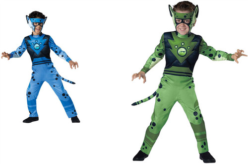Quality Wild Kratts Child Costume Muscle Cheetah
