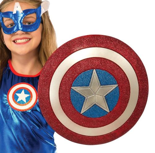 Captain America American Dream 12-Inch Glitter Shield Costume