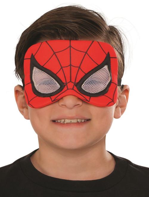 Spider-Man Child Costume Plush Eye Mask