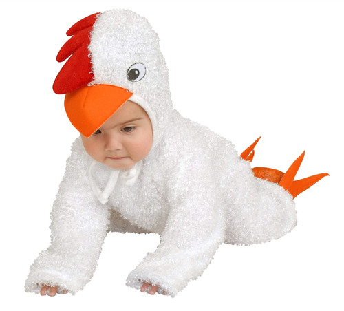 Little Chick Baby/Toddler Costume White