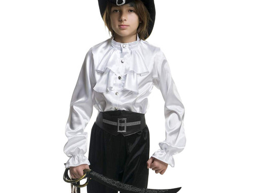 Pirate Captain Boys Shirt Costume