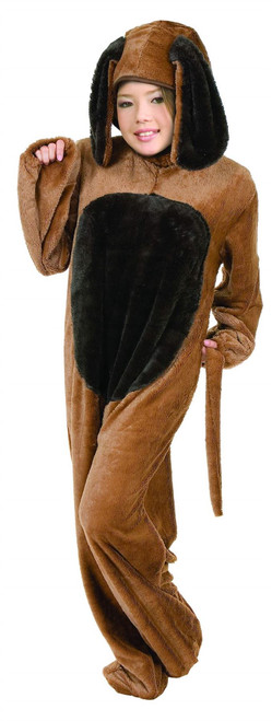 Kids Big Dog Childrens Costume - Brown