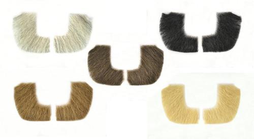 Fake Sideburns 2019 - 100% Human Hair