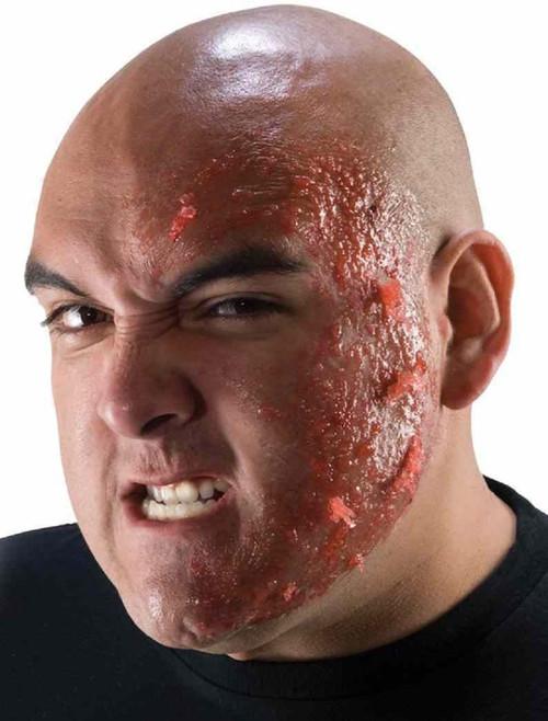 Burn Scar Makeup Rubies