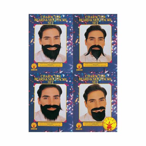 Character Beard & Moustache Assortment