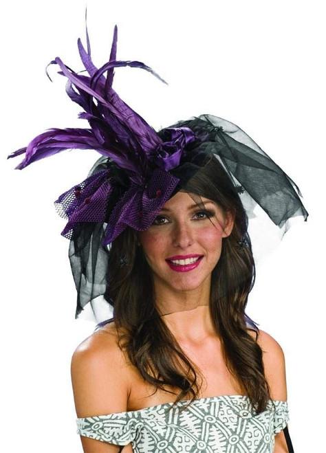 Adult Purple Mini Witch Hat