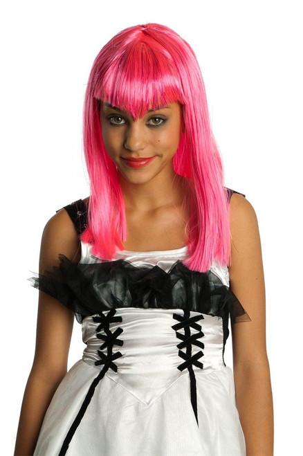 Glitter Vamp Costume Wig Child One Size