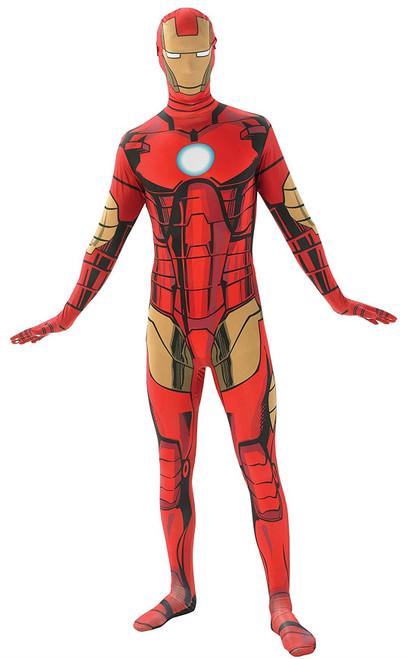 Iron Man Marvel Mens Second Skin Costume