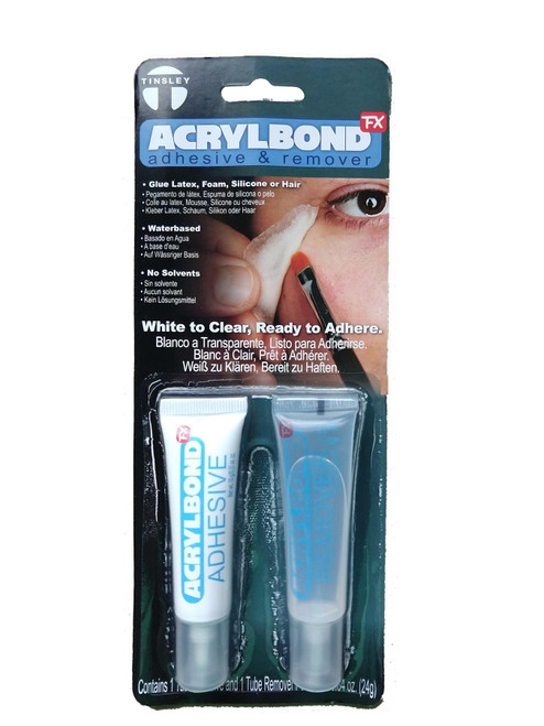 Acrylbond Adhesive & Remover - For Attaching Makeup Appliances