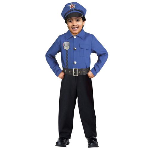 Kids Ryan's World Sound FX Police Officer Costume