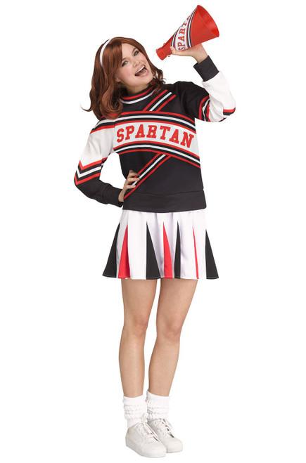 Women's Deluxe Spartan Cheerleader Costume - Saturday Night Live