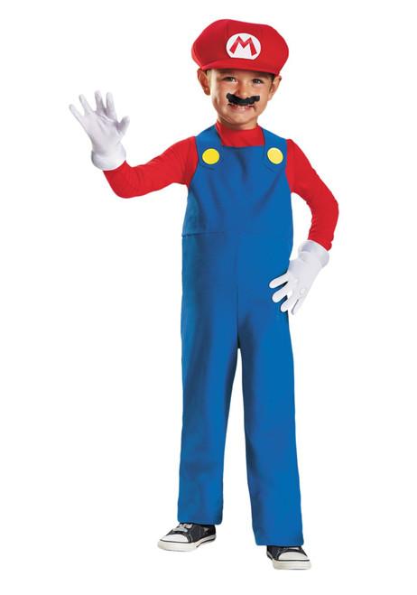 Disguise Nintendo Super Mario Brothers Mario Boys Toddler Costume