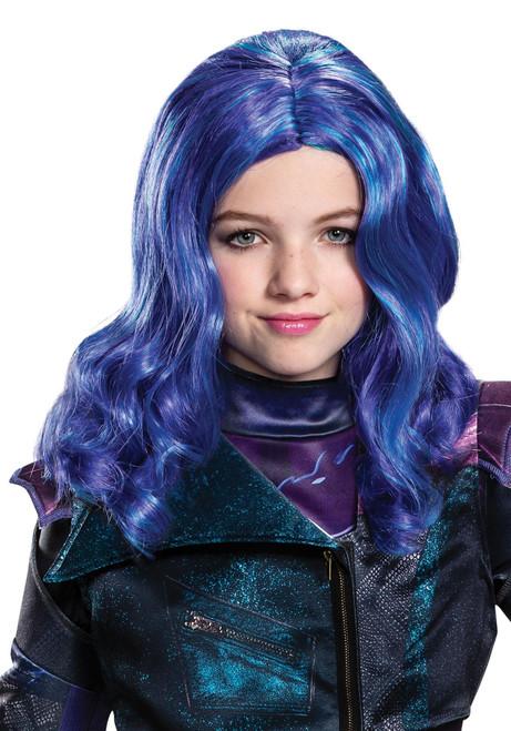 Diguise Mal Girls Child Disney Descendants 3 Halloween Costume Wig 20668