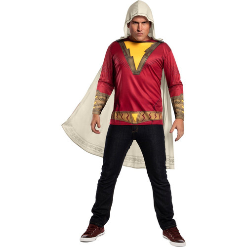 Halloween Shazam Adult Costume Top