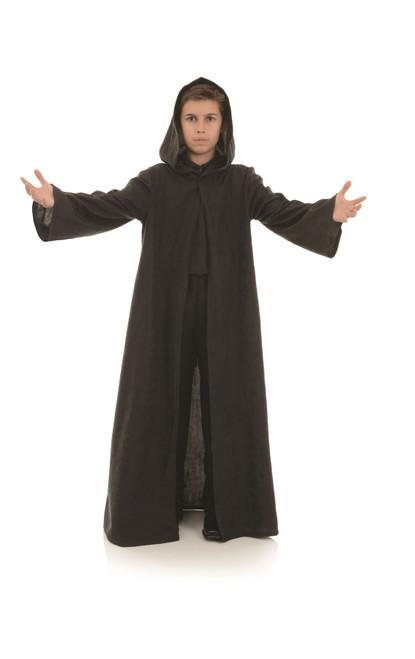 Kids Black Cloak with Hood