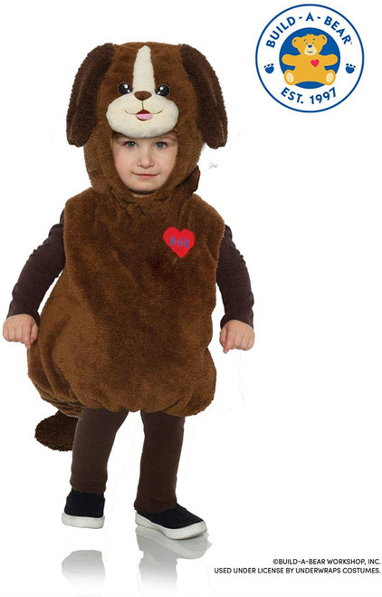 Playful Pup Boys Infant Build A Bear Workshop Belly Baby Plush Costume