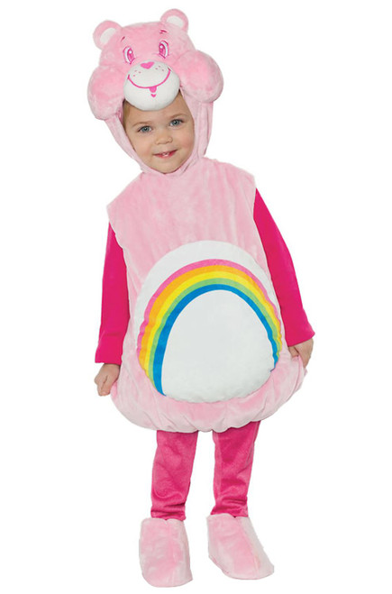 Care Bears Cheer Bear Belly Baby Toddler Halloween Costume