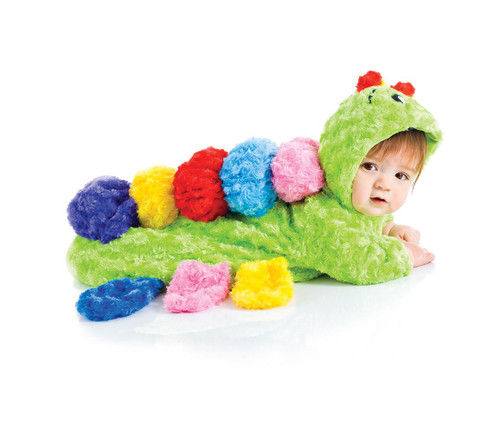 Colorful Caterpillar Baby Bunting Costume