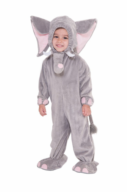 Forum Novelties Baby Boy'S Plush Cuddlee Elephant Costume - Toddler