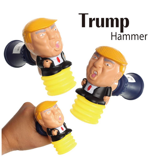 Brand New Item Donald Trump Talking Hammer with Lights and Swing Sound & Trump Sayings