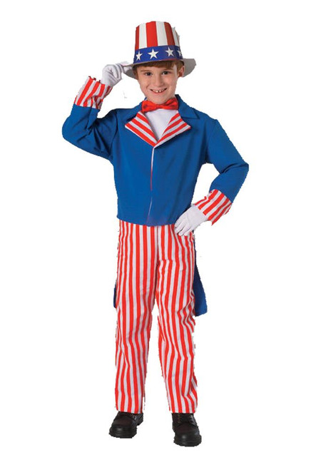 Rubie's Costume Co Uncle Sam Kids Costume