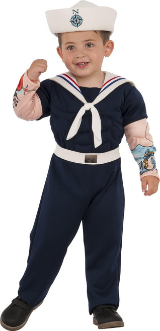 Rubie's Child's Deluxe Muscle Man Sailor Costume