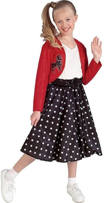 Rubie's Costume Co Polka Dot Rocker Costume