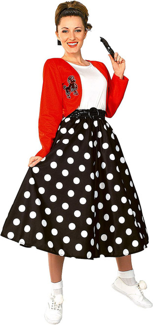Rubie's Costume Fabulous 50's Polka Dot Sock Hop Girl Adult Costume