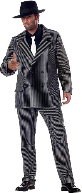 Adult Gangster Suit Costume for Halloween