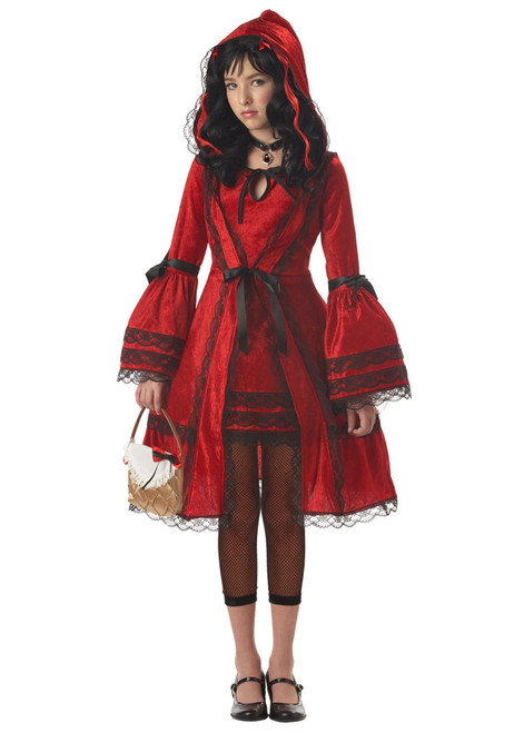 Tween Strangeling Red Riding Hood Costume