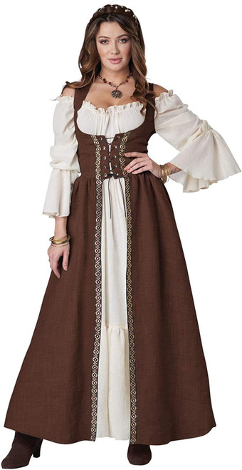 Medieval Overdress - Brown