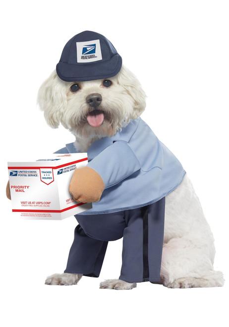 USPS Dog Mail Carrier Pet Costume