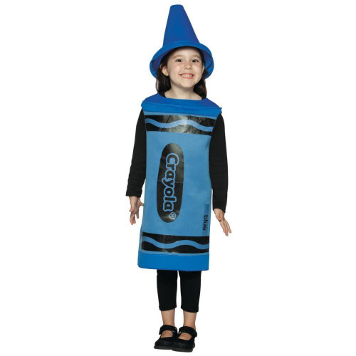 Crayola Blue Toddler Halloween Costume 4-6X