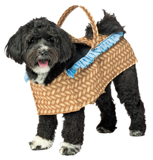 Toto Wizard Of Oz Dorothy Carrying Toto Dog In Basket Dog Costume Halloween S-M