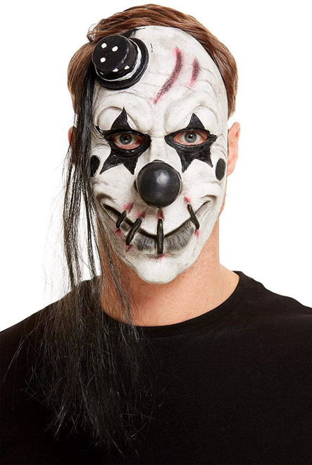 Scary Clown Latex Mask - Adult