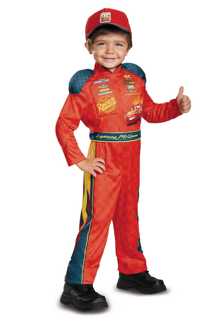 Disguise Lightning McQueen Classic Toddler Costume from Cars 3