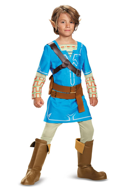 Disguise Legend of Zelda Breath of the Wild Link Deluxe Costume for Boys